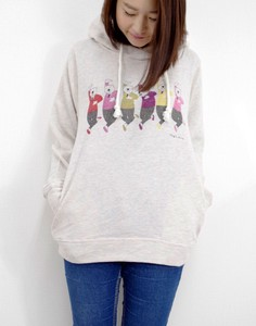 Fleece Long Sleeve Hoody bear
