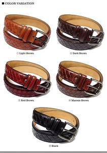 Genuine Texture Genuine Leather Leather Leather Belt