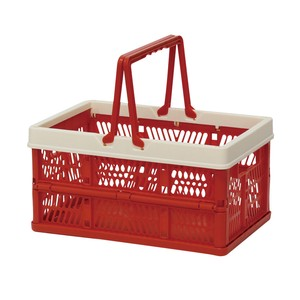 Folding Container Red Storage Box Storage Folded