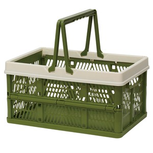 Folding Container Moss Green Storage Box Storage Folded