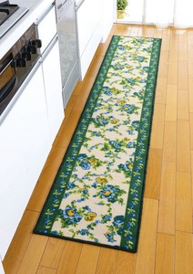 Kitchen Mat Garden Green