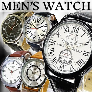 Leather Men's Watch Assort Men's Wrist Watch Assort