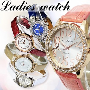 Leather Di Watch Assort Ladies Wrist Watch Assort