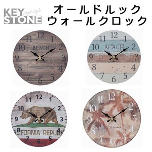 Stone Old Look Wall Clock