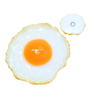 Food Product Sample Magnet Fried Egg