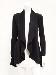 Pleats Raffle Coat Jacket