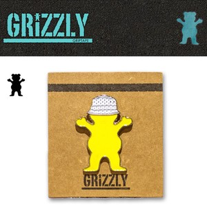 Grizzly Griptape BUCKET BEAR PIN 15483