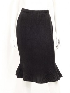 Pleats Knee-high Skirt