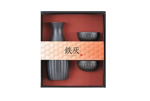 Pottery Japanese Sake Cup 3-unit Set 1Pc