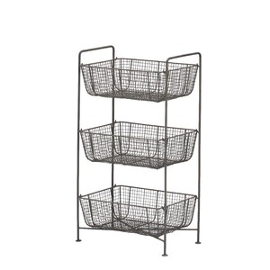 Fancy Goods Charm Mesh 3 Steps Basket