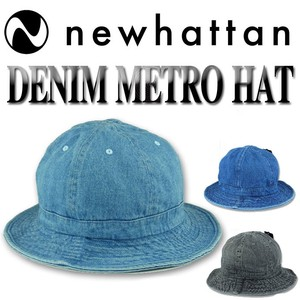 NEWHATTAN DENIM METRO HAT  15497