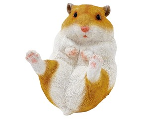 Cheerful Friends Golden Hamster Motion Real Animal Mascot Ornament