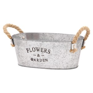 Flower Plant Bucket Oval Size M 3 Colors