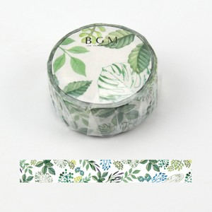 [BGM] Washi Tape  / Masking Tape Life Leaf Washi Tape