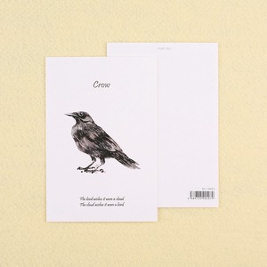 Card Crow 100mm 8mm Card