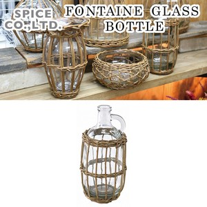 FONTAINE GLASS BOTTLE