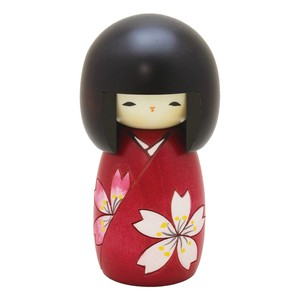 Saburo Kokeshi Flower Ornament