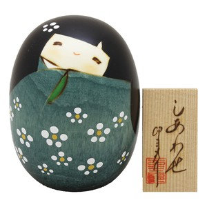 Saburo Kokeshi Green Ornament