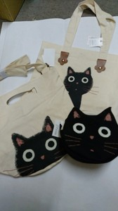 Cat Tama-Chan Shoulder Tote Pouch Lunch