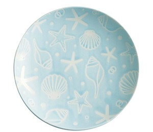 Plate Water Blue