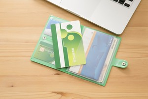 Passbook Card SEAL Case Book Clover