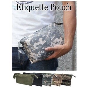 Etiquette Pouch 5 Colors