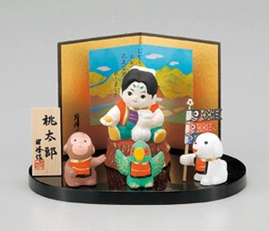 Peach Boy Wake Up Dumpling Ornament