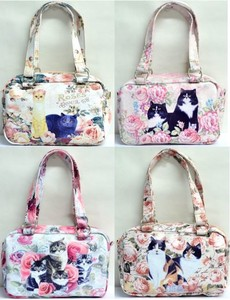 Rose Bag Shoulder Bag Rose Cat Bag