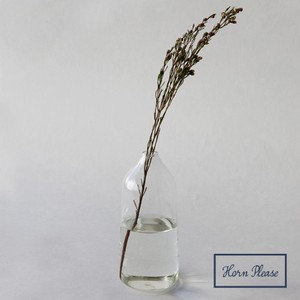 Glass Light Flower Vase Slim