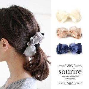 Ribbon Banana Clip Semi-formal Larger