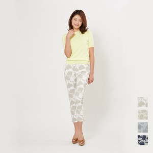 SUMMER Flower Print Tapered Pants