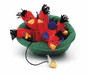 【 FURNIS SPIELWELT】 710 HAND PUPPET LITTLE BIRDS - PIPALN