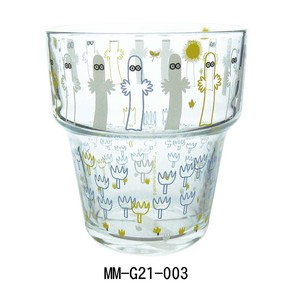 【SALE!!】【MOOMIN Stacking Series】ガラス食器