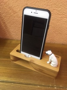 Waist Nipper Smartphone Wooden Stand Speaker Licensed Product Ornament