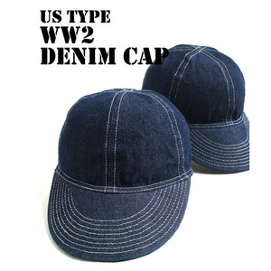 Type Denim Cap
