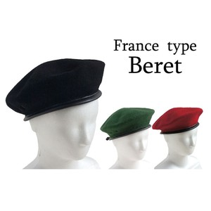 France Type Wool Beret 3 Colors