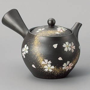 TOKONAME ware Bicolor Sakura Tea Strainer Japanese Tea Pot