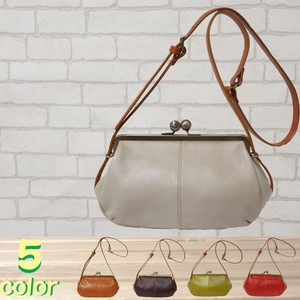 Shoulder Bag Cow Leather 5 Colors Coin Purse
