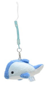 Strap Mobile Phone Cleaner Dolphin Blue