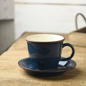 Board Cup Saucer Deep Blue MINO Ware