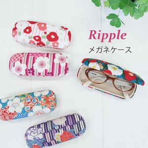 Japanese Pattern Eyeglass Case Hard Type Ladies