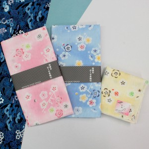 Japanese Pattern Gauze Hand Towel Handkerchief Double Gauze Disposal