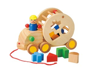 Natural Material Puzzle Track Wooden Toy Wooden Toy