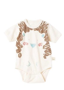 Organic Cotton Baby Hedgehog Rompers