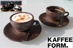 Cafe Form Coffee Cups & Saucer Espresso Cappuccino