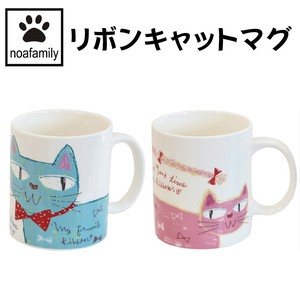 cat Ribbon Cat Mug