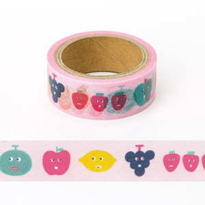 < マスキングテープ >masking tape AMT-14 FRUITS MIX