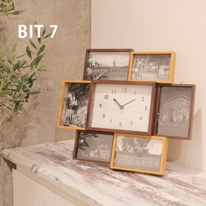Photo Frame Seven Photo Frame Clock/Watch