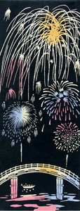 Thusen Hand Towel Firework Tournament WAFUKA