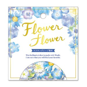 Flower FLOWER SEAL Flower Blue